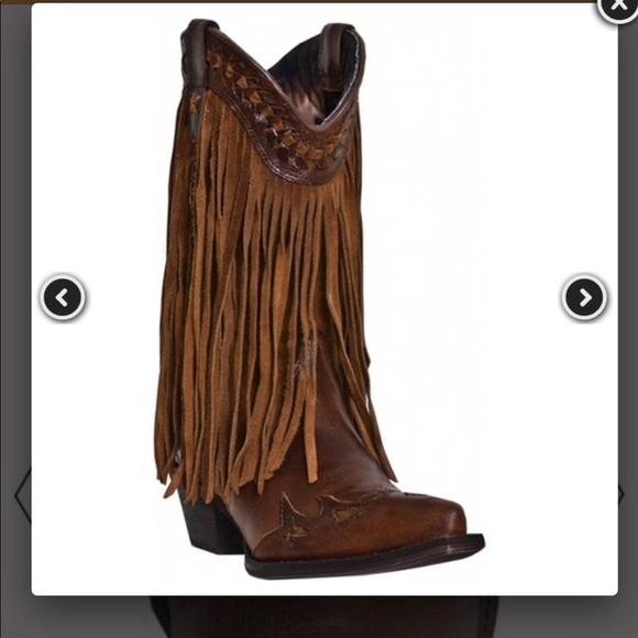 ab1fe2847c Dingo Shoes - Dingo Heart Throb Fringe Boots